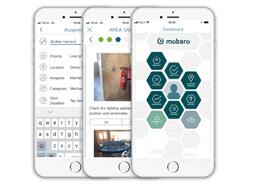 The Mobaro mobile app