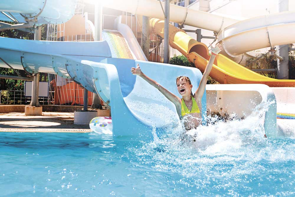 Waterpark safety and maintenance